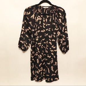 Tucker | Silk Classic Mini Shirt Dress Small
